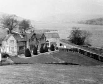 Gowthwaite Hall before it was pulled down in the 1920s